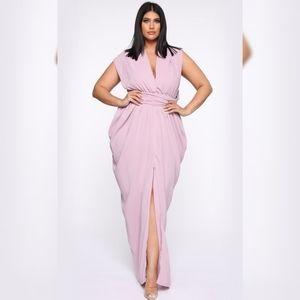 Fashion Nova Pose For Me Maxi Dress